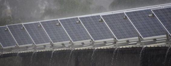 Солнечные панели превращаются в дождевые!