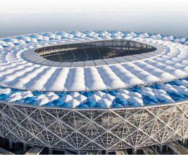 Стадион с вантовой кровлей: «Волгоград Арена»
