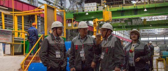 Лысьвенские металлурги продемонстрировали инновационное производство
