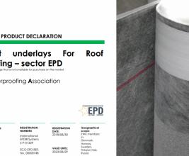 Подкладочные ковры ТЕХНОНИКОЛЬ в списке декларации экологичных строительных материалов!