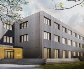 Новое здание профессиональной гильдии в Мюнхене: фасад с wow-эффектом!