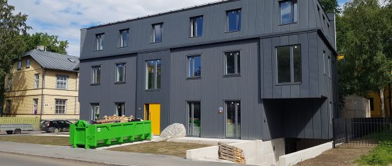 Какие технологические решения скрывает внешняя простота? Необычное здание в Таллинне