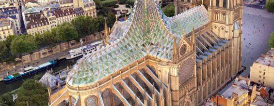 Нотр-Дам обретет стеклянную крышу