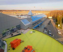 Система «Double ИНВЕРС» для кровли аэропорта в Ханты-Мансийске