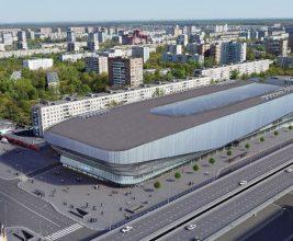 В Москве ведется строительство автобусного терминала с посадочными платформами на крыше